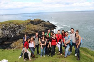 English School Dublin Group at the Cliffs