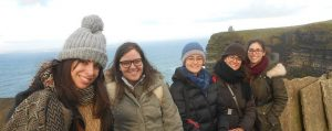 Central School English students on a day-trip to the Cliffs of Moher and Galway