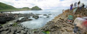 Central English School Dublin Students at the Giant's Causeway