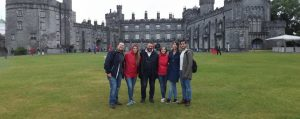 Central English School Dublin students at Kilkenny Castle