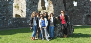 Central School of English students at the Celtic Boyne Valley