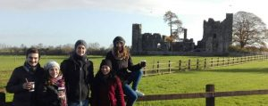 Central English School Dublin Students at the Celtic Boyne Valley