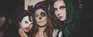 Halloween at the Central School of English in Dublin