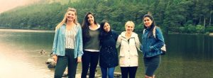 Central School of English students at Glendalough