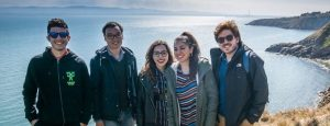 entral School Students Enjoy the Sea Air in Dublin