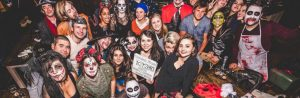 Halloween Party at the Central School of English in Dublin