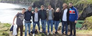Central School of English Students at the Cliffs of Moher